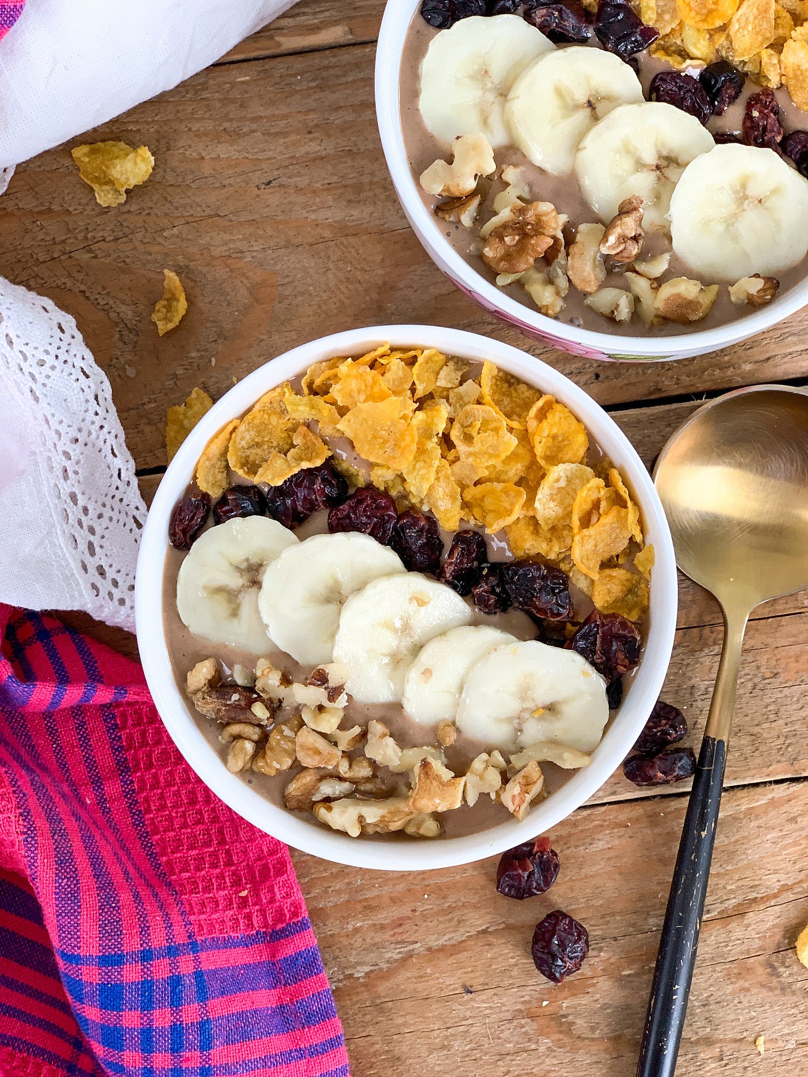 Chocolate Banana Smoothie Bowl Recipe
