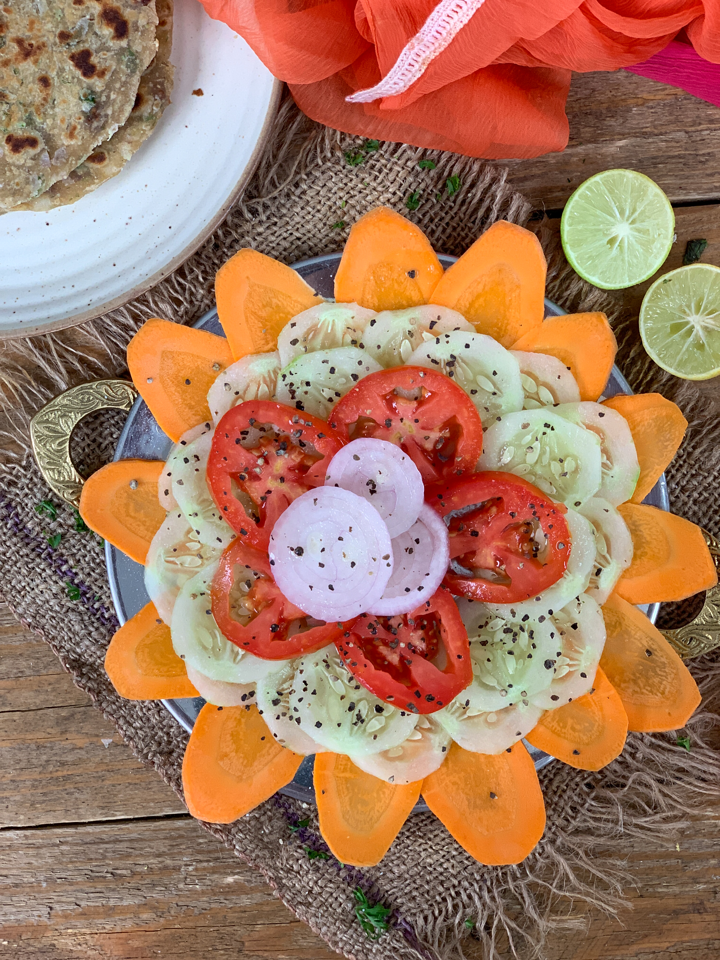 Classic Indian Sliced Salad Recipe By Archana S Kitchen