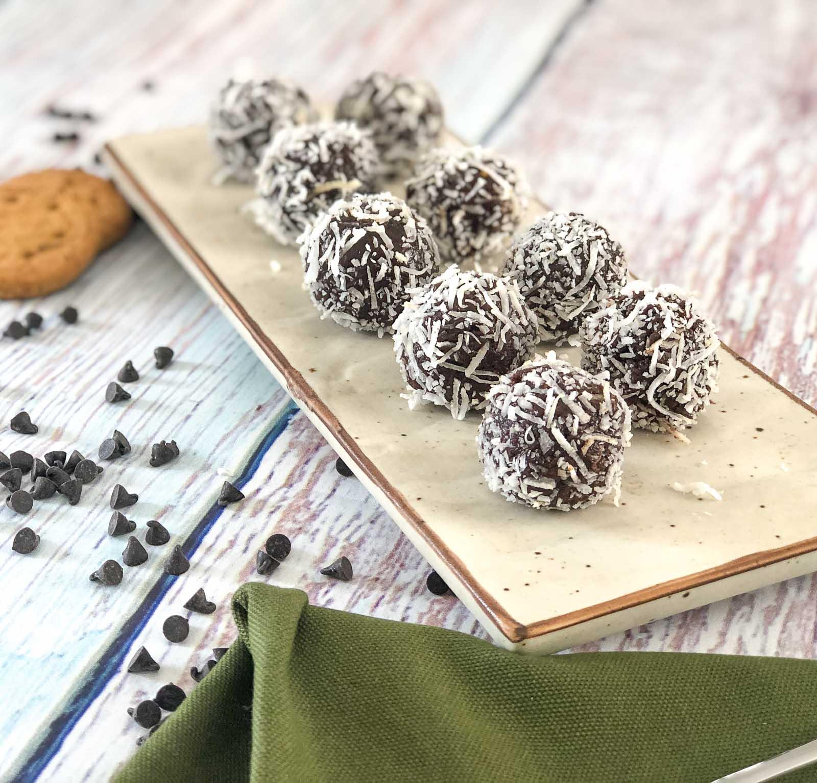 Nutty Oats Almond Truffle Recipe – A Healthy Snack