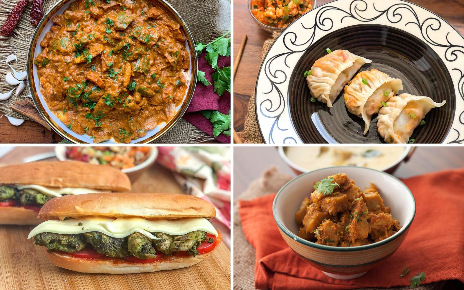 Weekly Meal Plan – Basil Pesto Chicken Sandwich, Hariyali Pav Bhaji And Much More