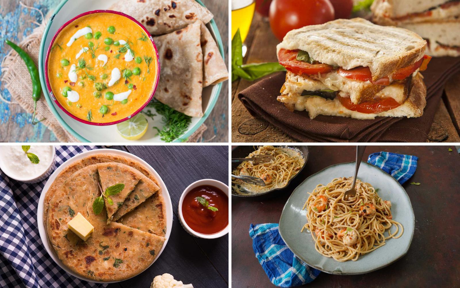 Weekly Meal Plan – Garlic Shrimp Pasta, Matar Masala And Much More