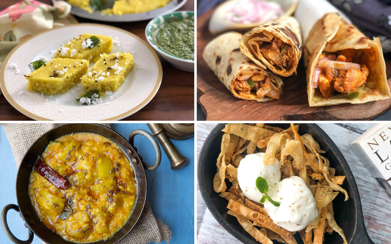 Weekly Meal Plan – Chicken Kathi Roll, Lauki Chana Dal And Much More
