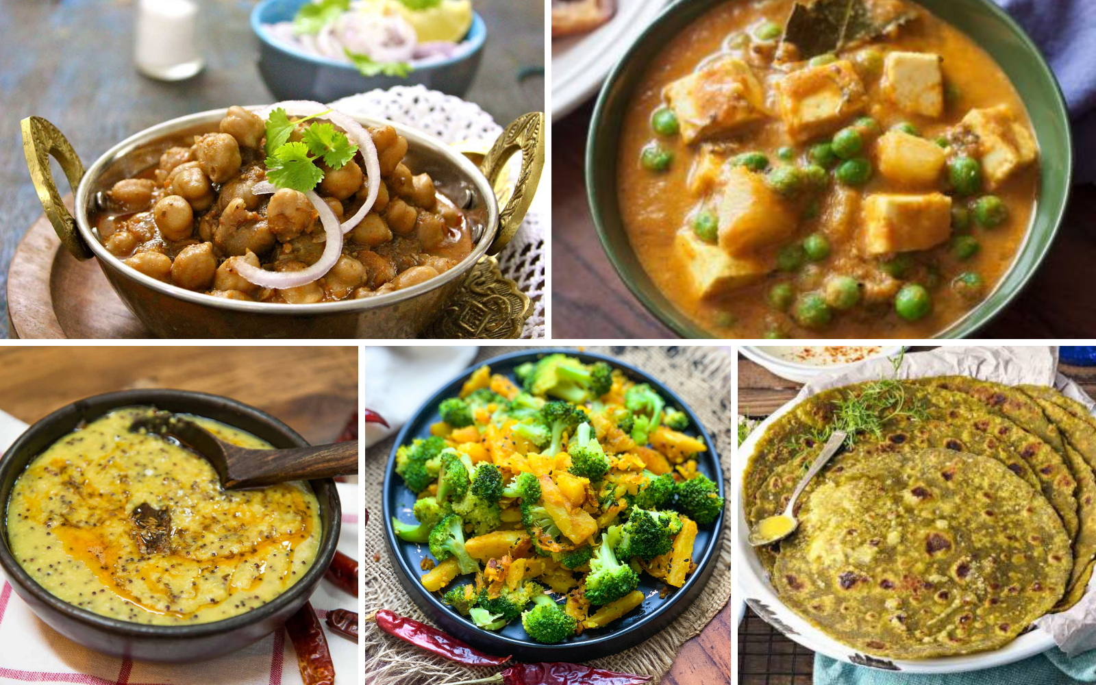 High Protein Indian Vegetarian Main Course Recipes For Body