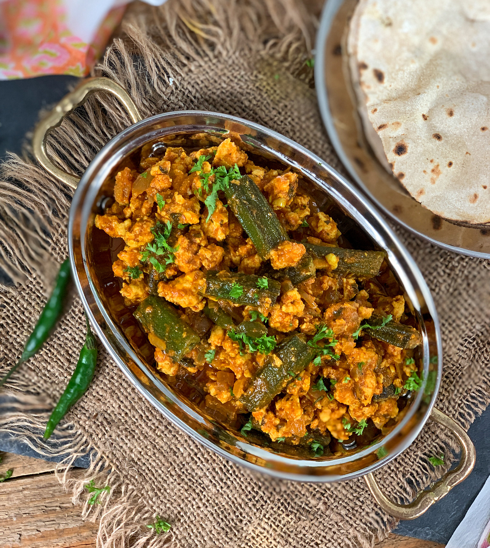 Keema Bhindi Masala Recipe - Okra & Minced Meat Curry