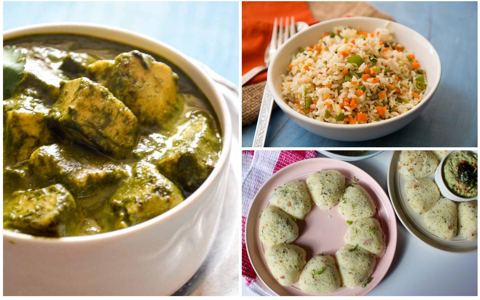 Kids Lunch Box Menu Plan- Sabbakki Rava Idli, Methi Chaman & More