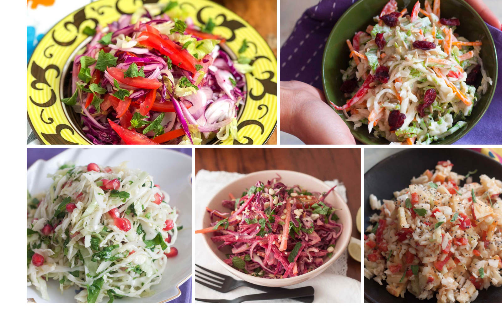 Refreshing & Inviting Cabbage Salad Meals For Lunch Or Dinner