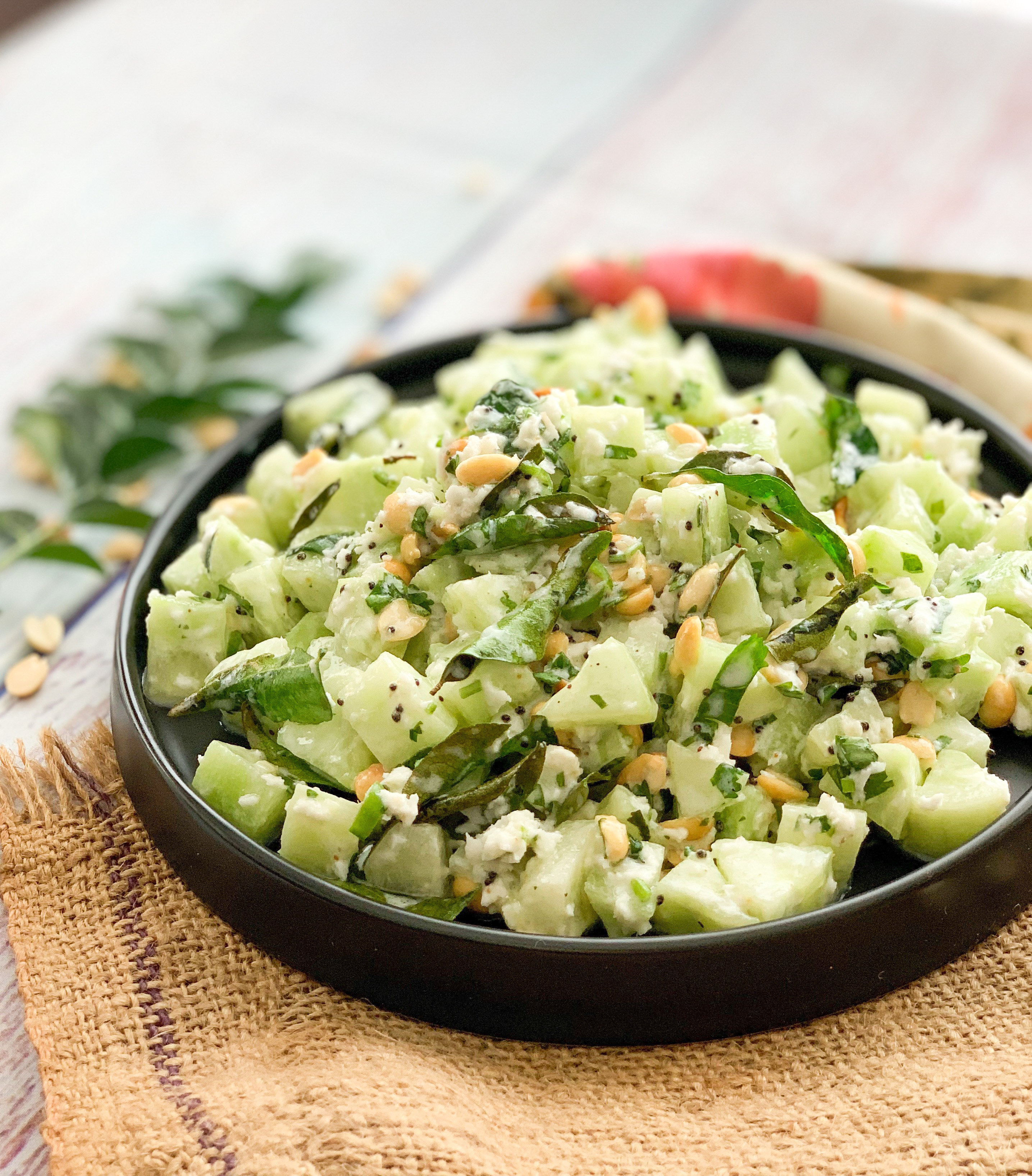 Khamang Kakdi – An Ayurvedic Salad For Your Everyday Meals