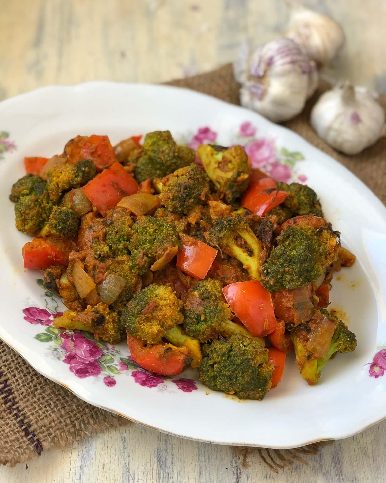 Kadai Broccoli Masala Recipe By Archana S Kitchen