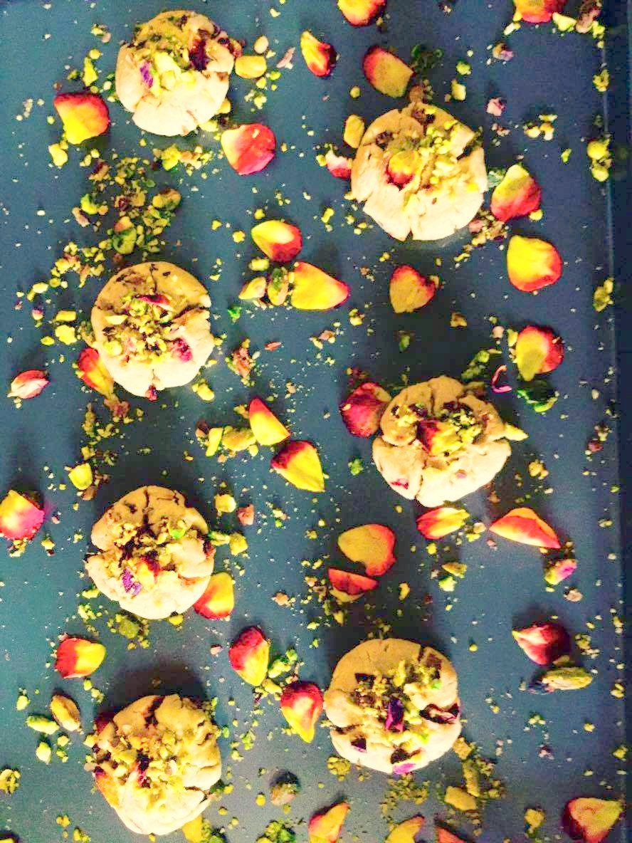 Healthy Rose Cookies Recipe With Persian Twist