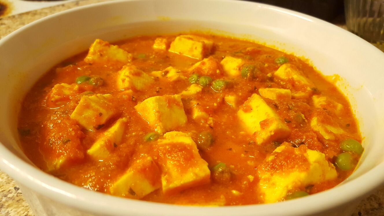 Paneer Matar Butter Masala Indian Cottage Cheese And Peas Masala With Butter Recipe By Archana S Kitchen
