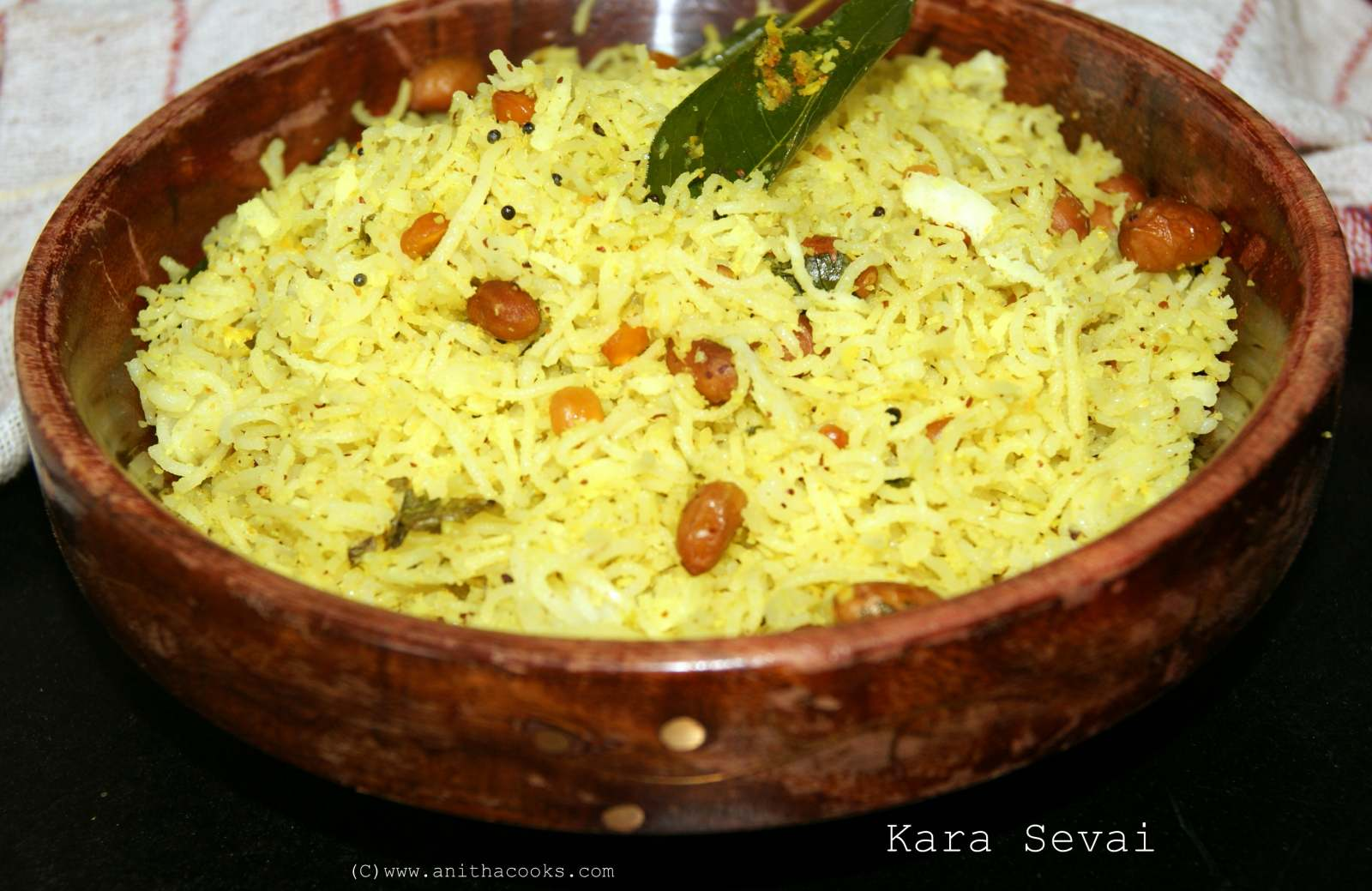 Kara Sevai Recipe (Lemon Vermicelli)