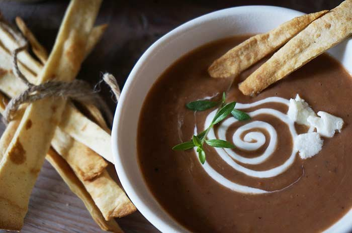 Mexican Style Sopa De Frijol Recipe - Red Kidney Beans Soup