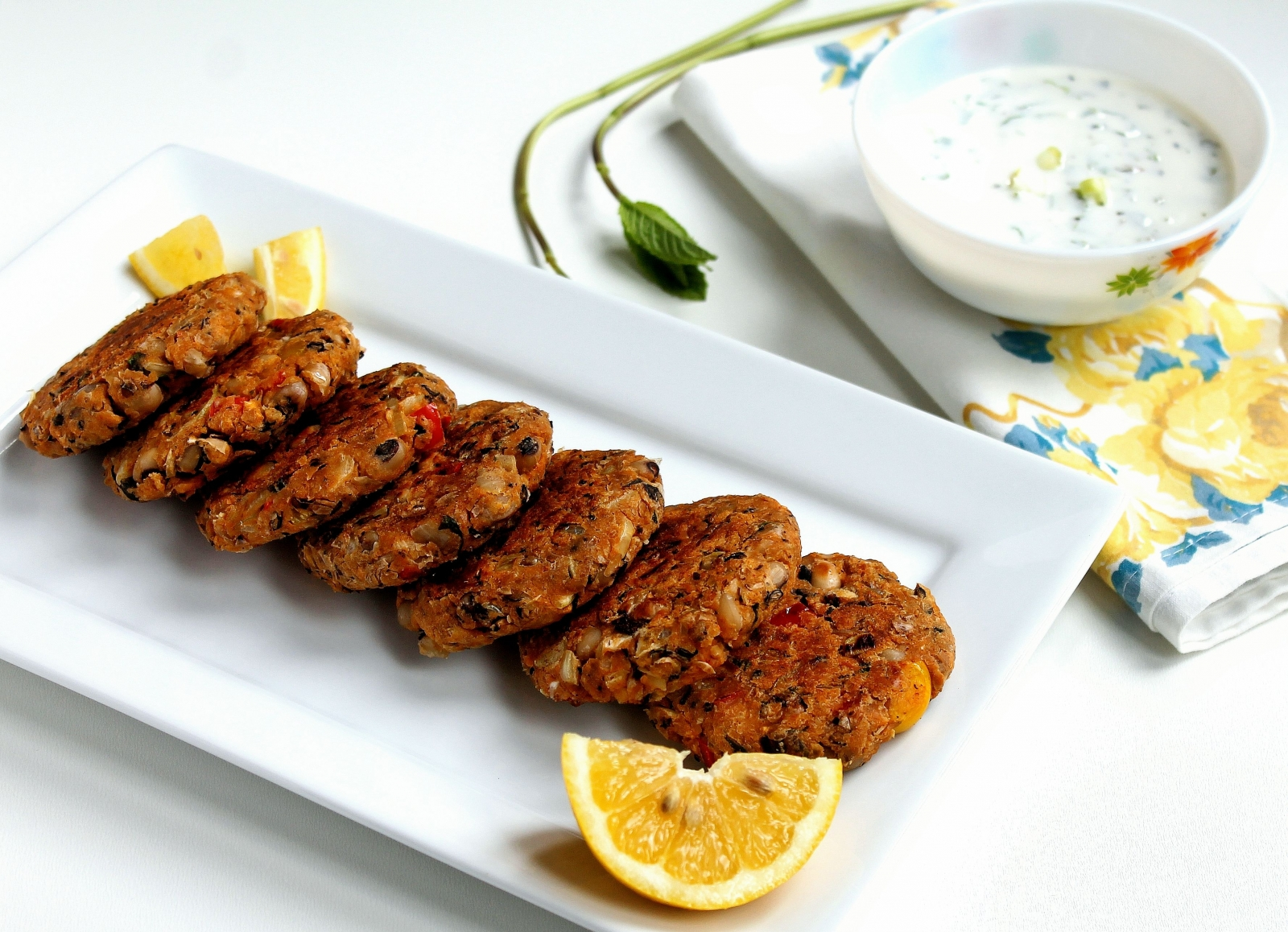 Lobia Kebabs Recipe (Black Eyed Bean Patties)
