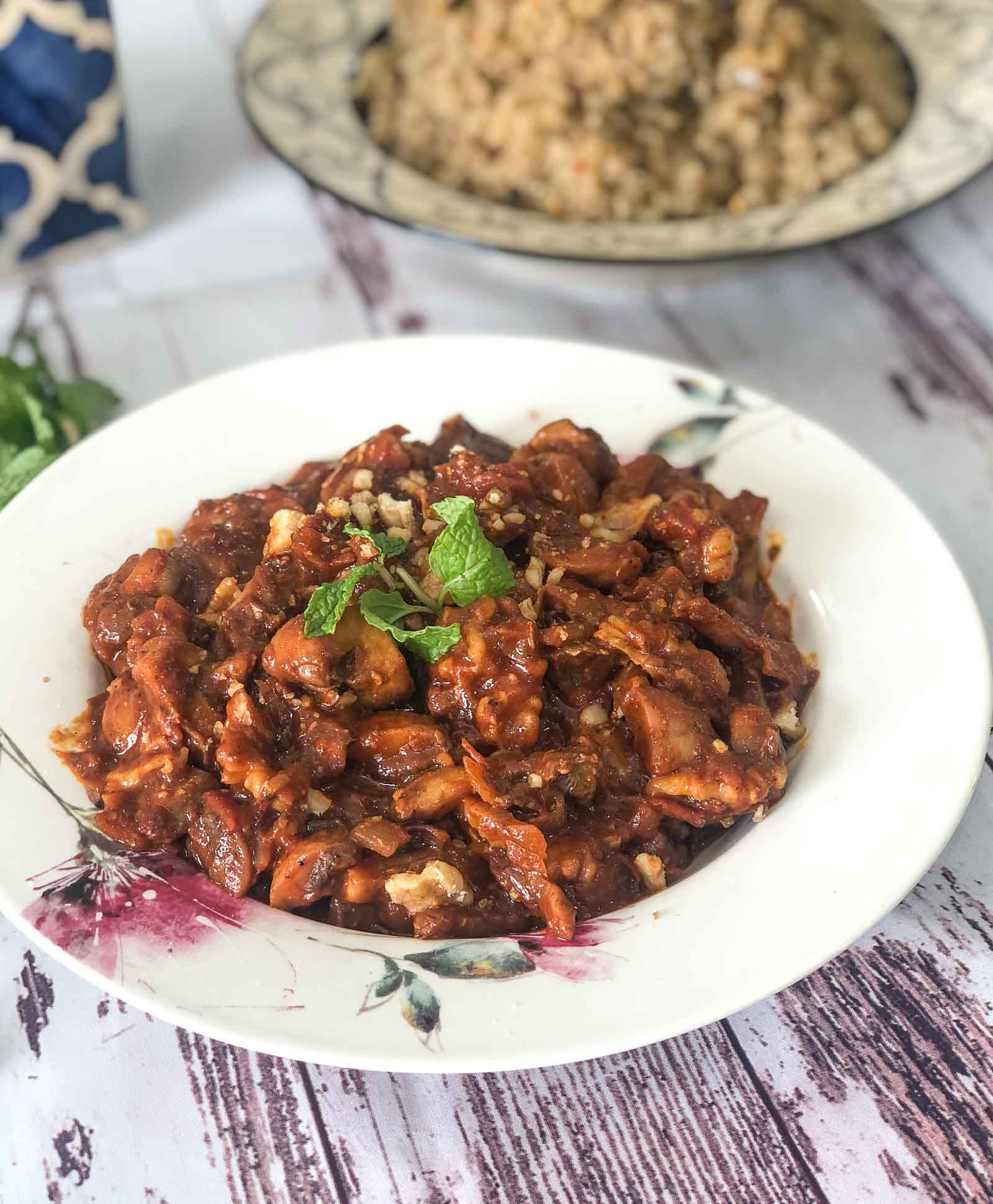 Walnut Mushroom Veg Bolognese Recipe With A Twist