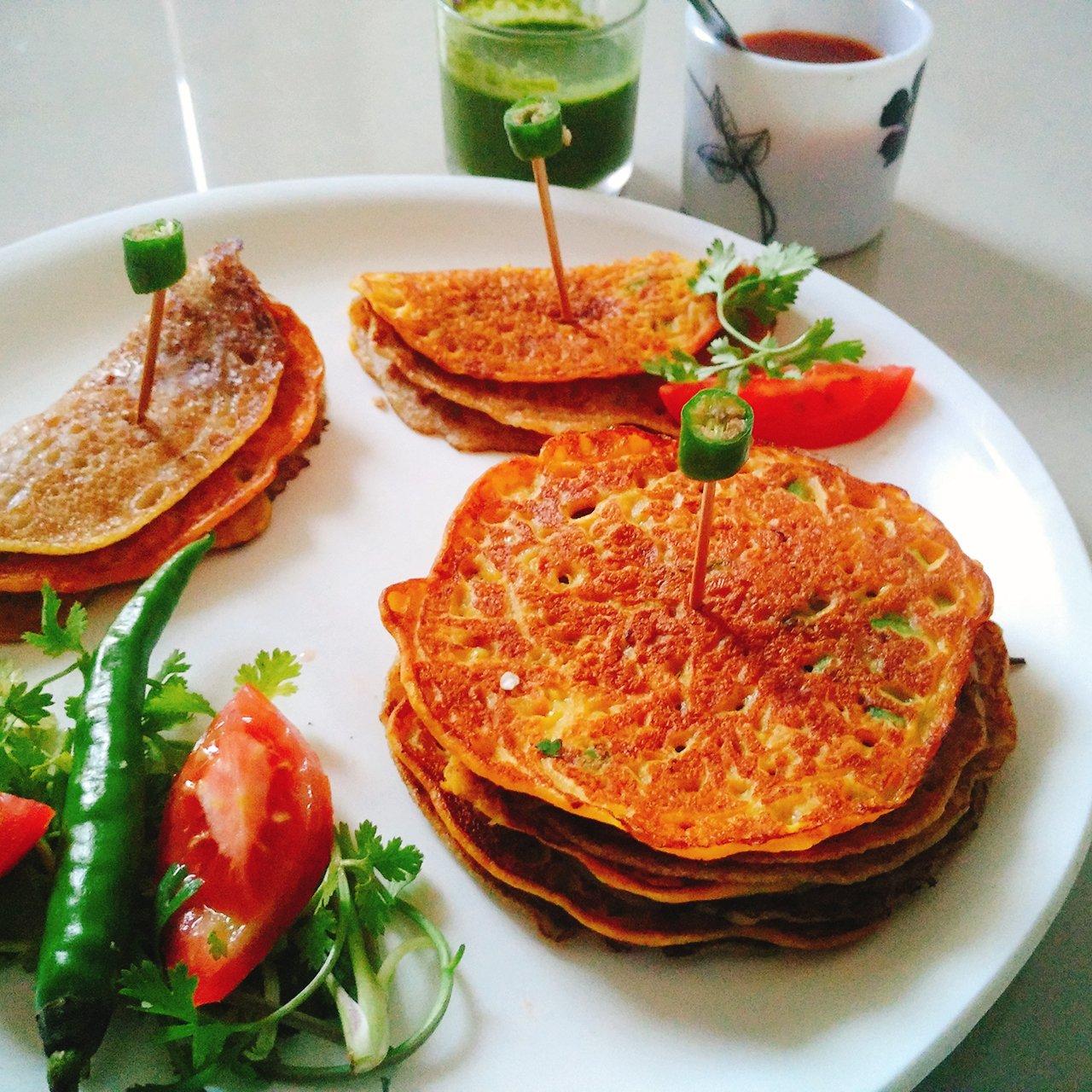 Khatta meetha pudla recipe gujarati style sweetish savoury pancake khatta meetha pudla recipe gujarati style sweetish savoury pancake forumfinder Choice Image