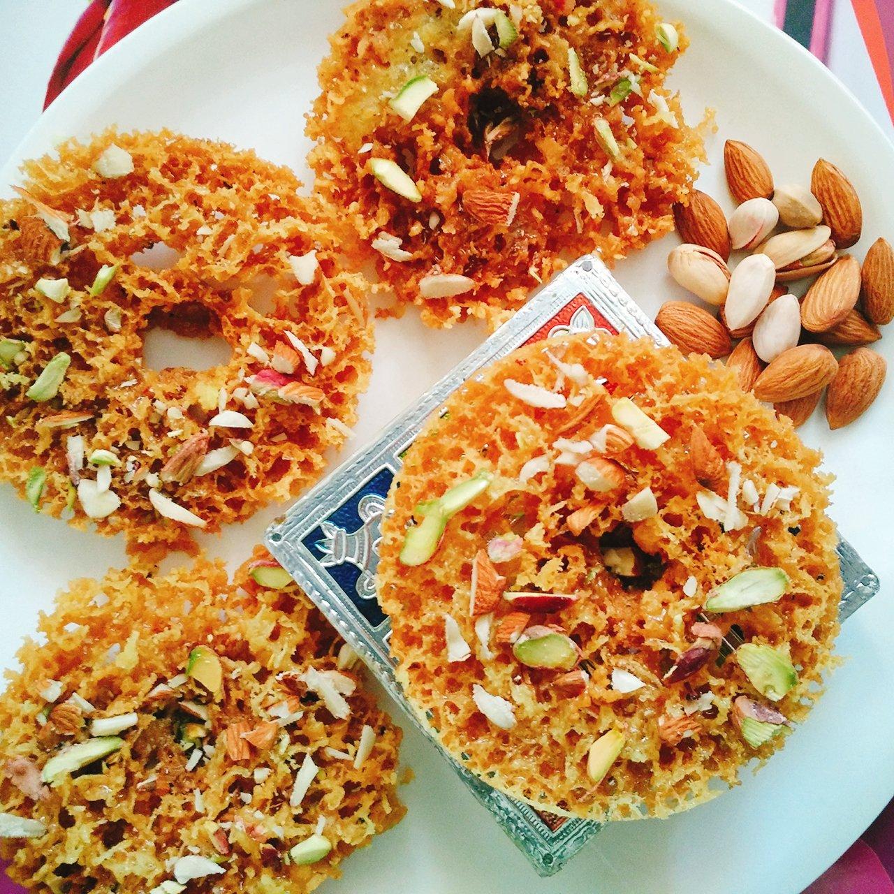 Rajasthani ghevar recipe by archanas kitchen rajasthani ghevar recipe forumfinder Choice Image