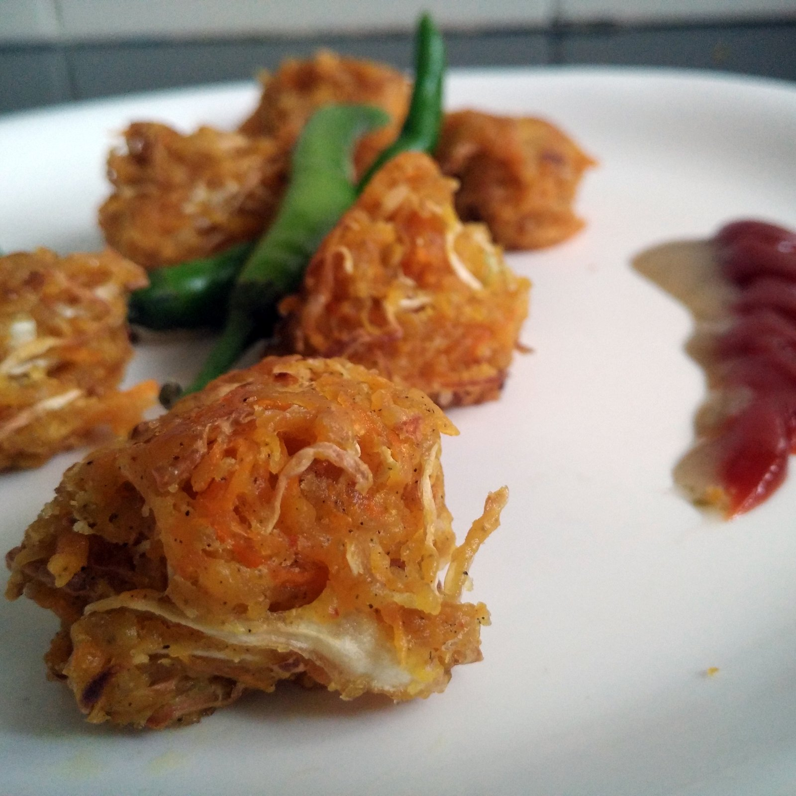 Crispy Bakwan Sayur Recipe (No Onion No Garlic Vegetable Fritter)