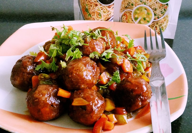 Chinese vegetable dry manchurian balls recipe no onion no garlic chinese vegetable dry manchurian balls recipe no onion no garlic forumfinder Image collections
