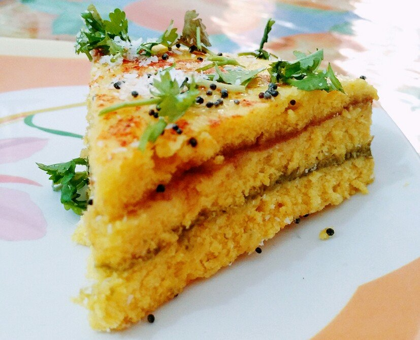 Instant sandwich khaman dhokla recipe by archanas kitchen instant sandwich khaman dhokla recipe forumfinder Choice Image