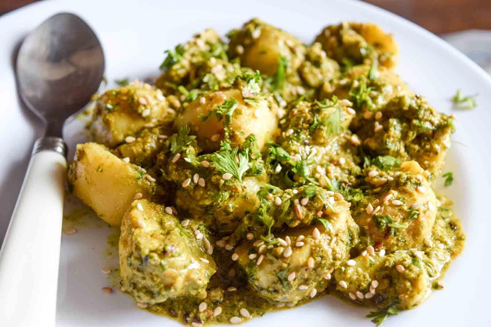 by archanas kitchen til ke aloo recipe in hindi forumfinder Images