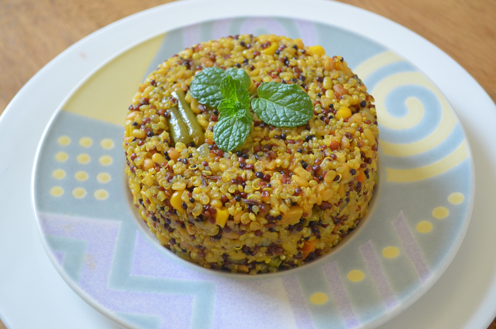 Quinoa vegetable upma recipe by archanas kitchen quinoa vegetable upma recipe forumfinder Image collections