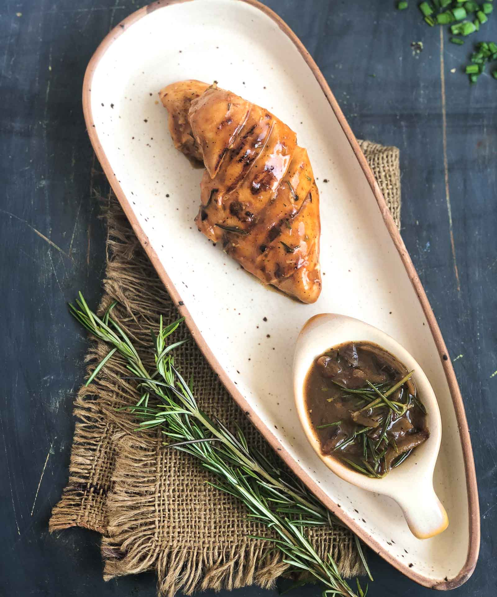 Caramelised Onion Rosemary Chicken Recipe