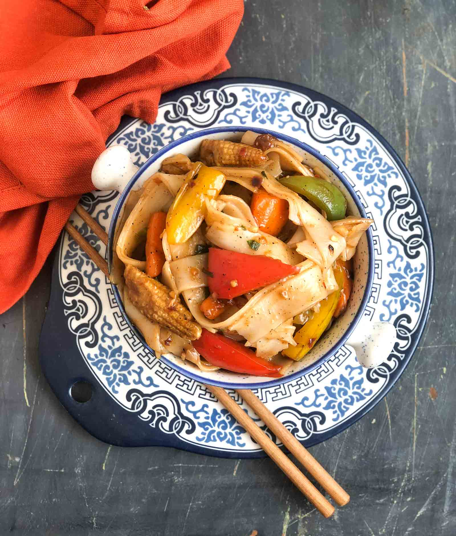 Drunken Noodles Recipe - Pad Kee Mao