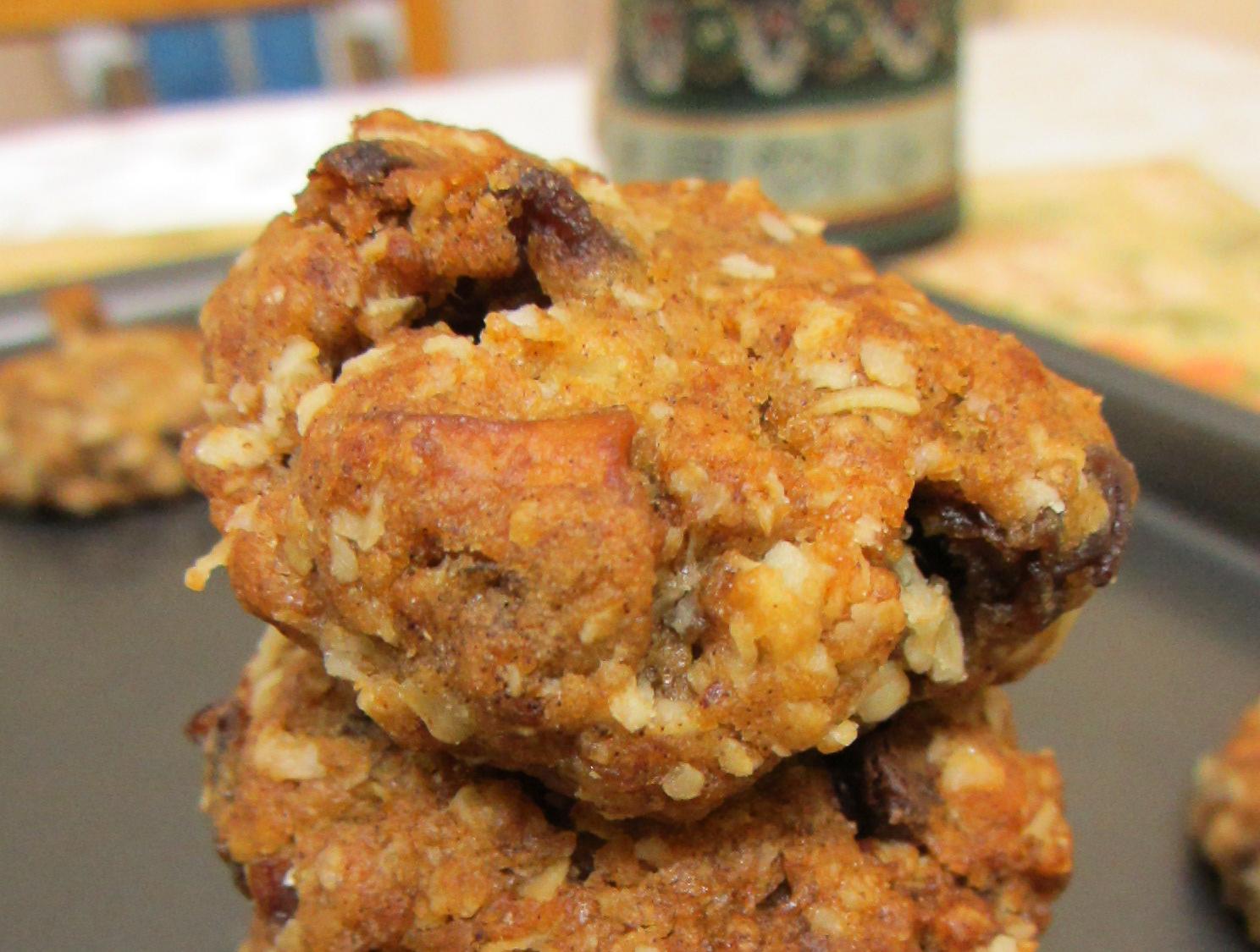 Whole Wheat Oatmeal And Amaranth Fruitcake Cookie Recipe