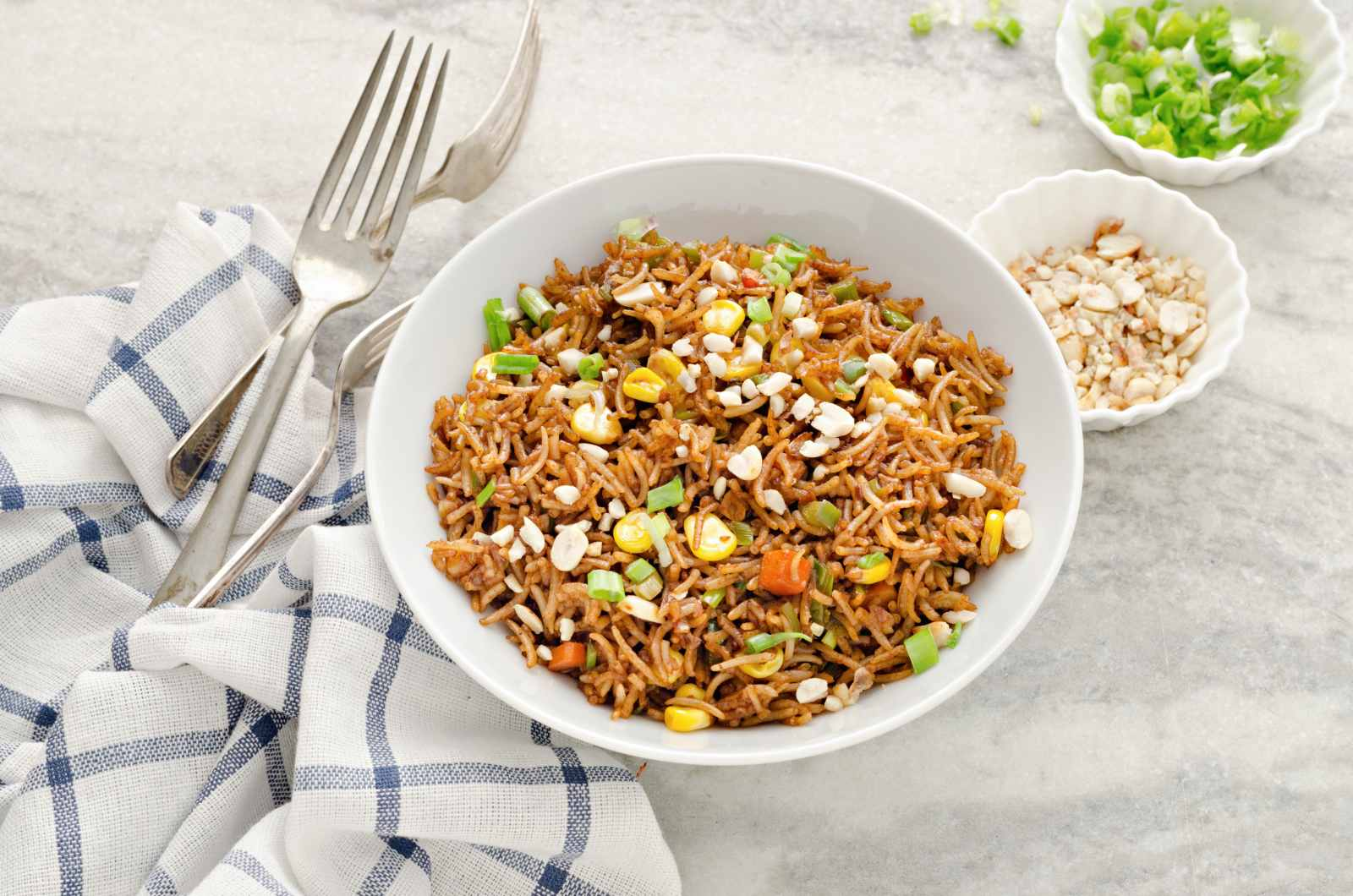 Asian Style Mixed Fried Rice Recipe