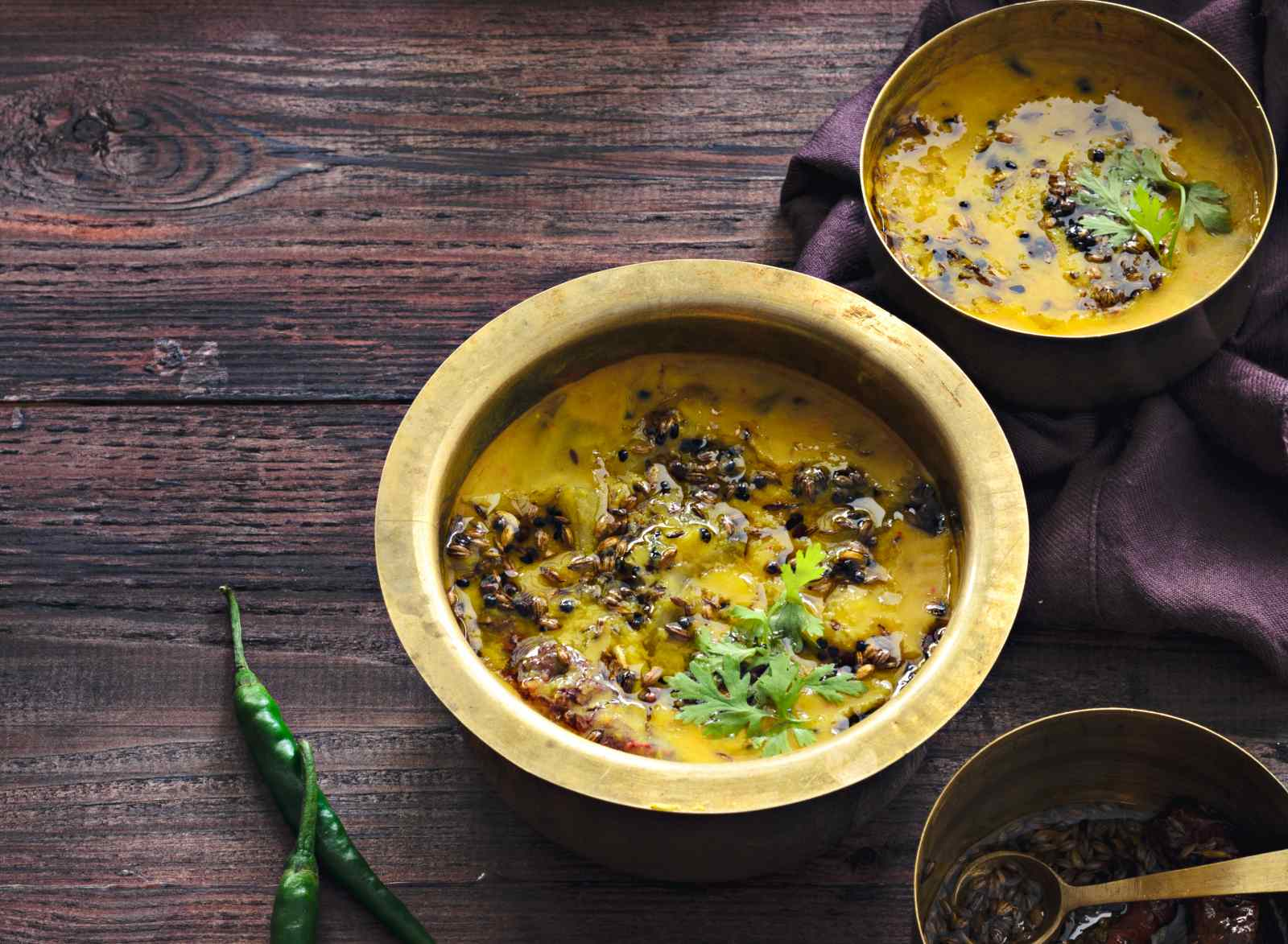 Green Mango Masoor Dal Recipe