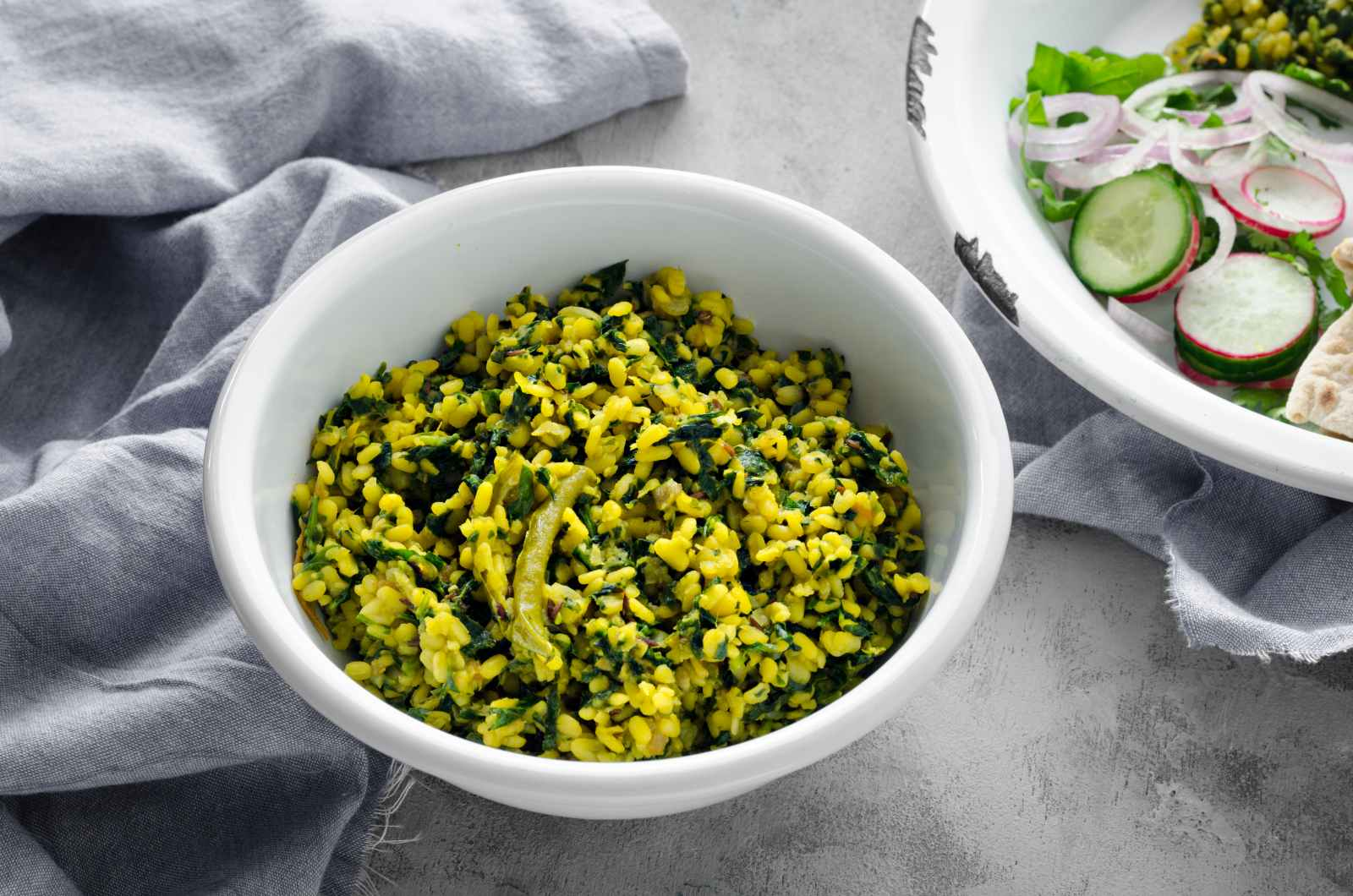 Moong Dal Methi Ki Sabzi Recipe