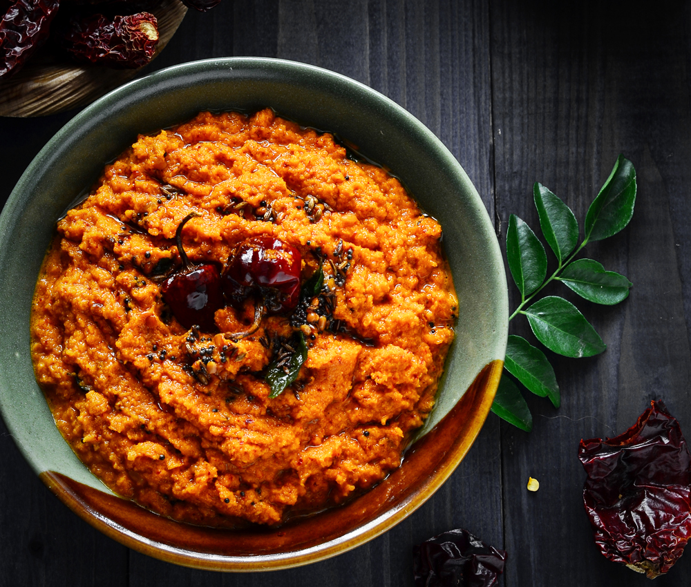Red chilli coconut chutney recipe south indian chutney by red chilli coconut chutney recipe south indian chutney forumfinder Image collections