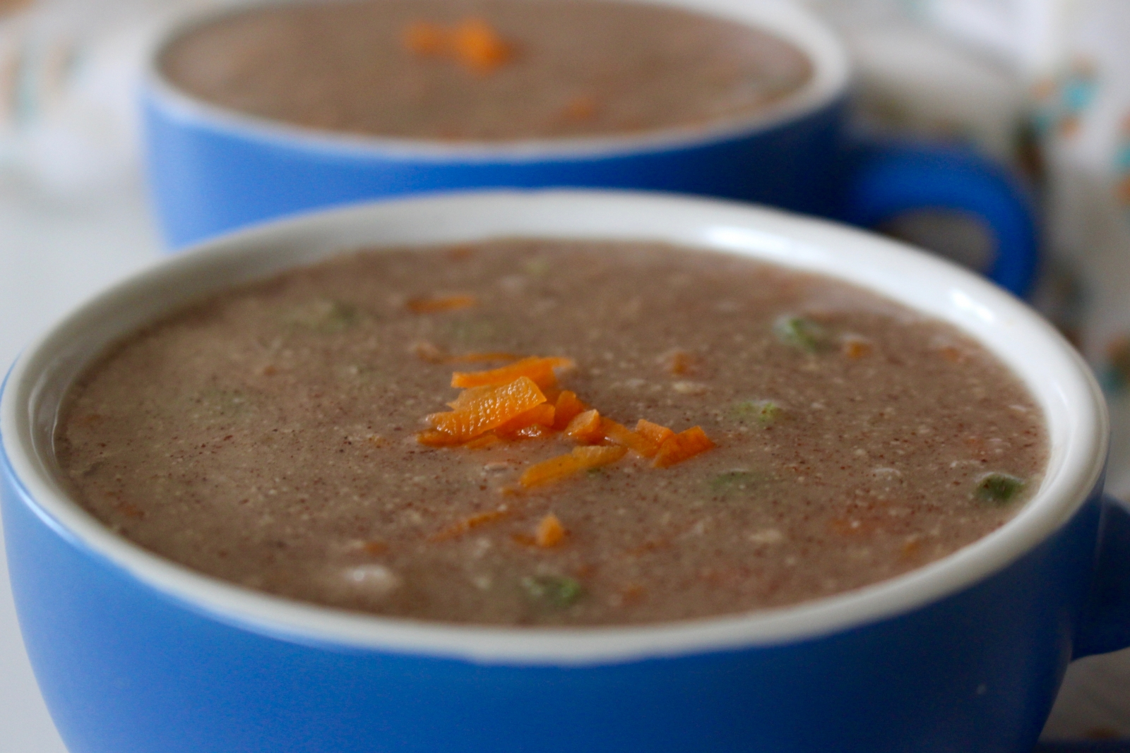 Ragi Badam Soup Recipe - Finger Millet Almond Soup With Vegetables