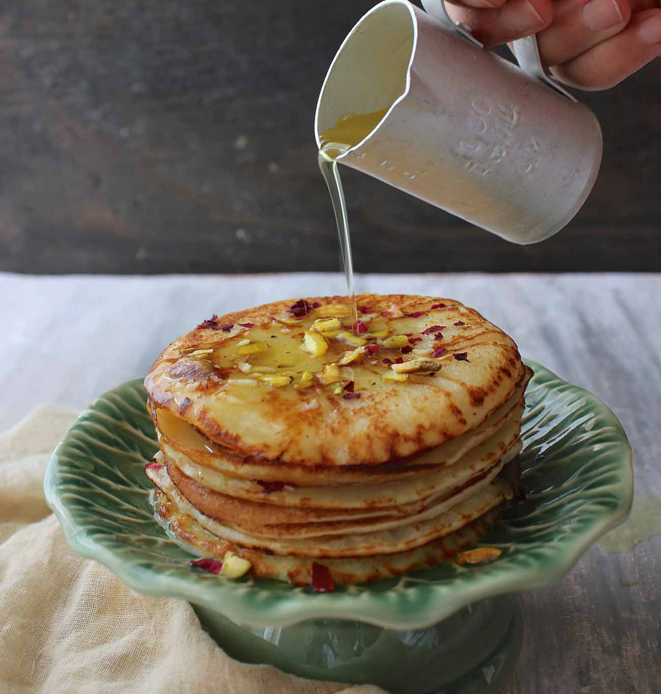 Malpua Recipe with Rabri (A Spiced Indian Pancake with Milk Pudding)