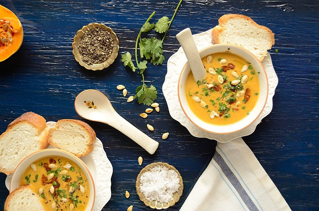 Curried Butternut Squash Soup Recipe