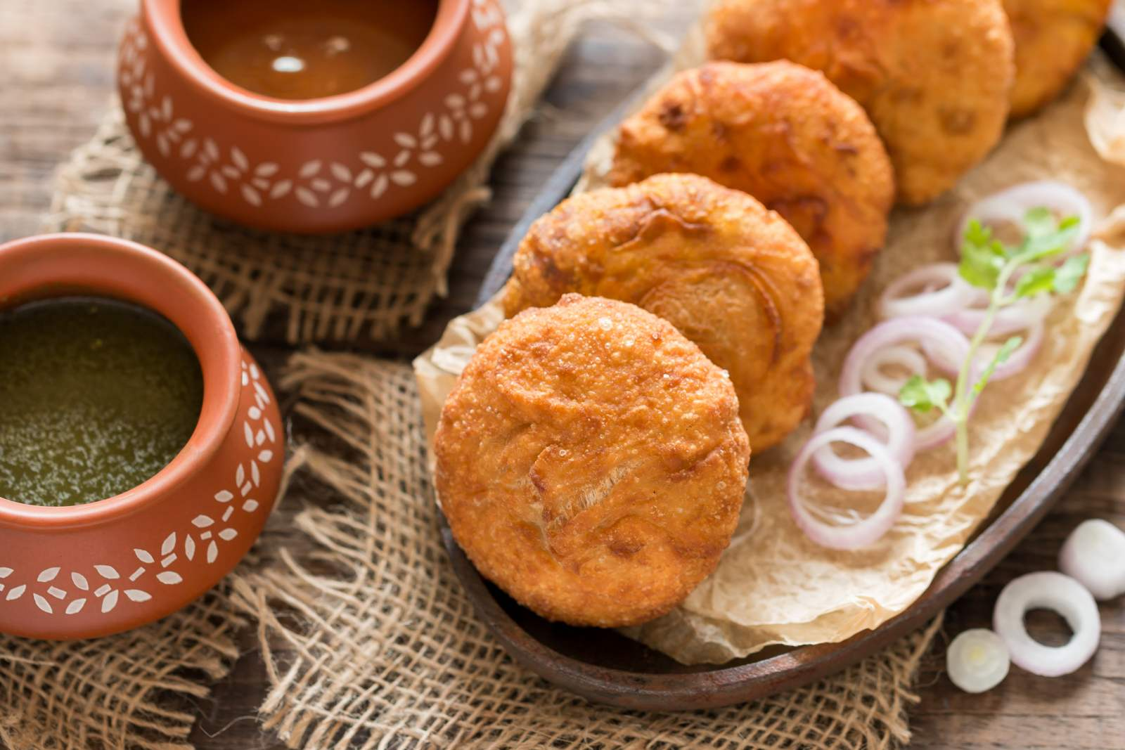 Image result for Rajasthan: Pyaaz Kachori