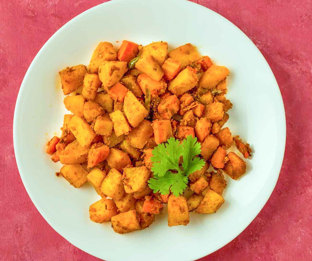 carrot and aloo subzi