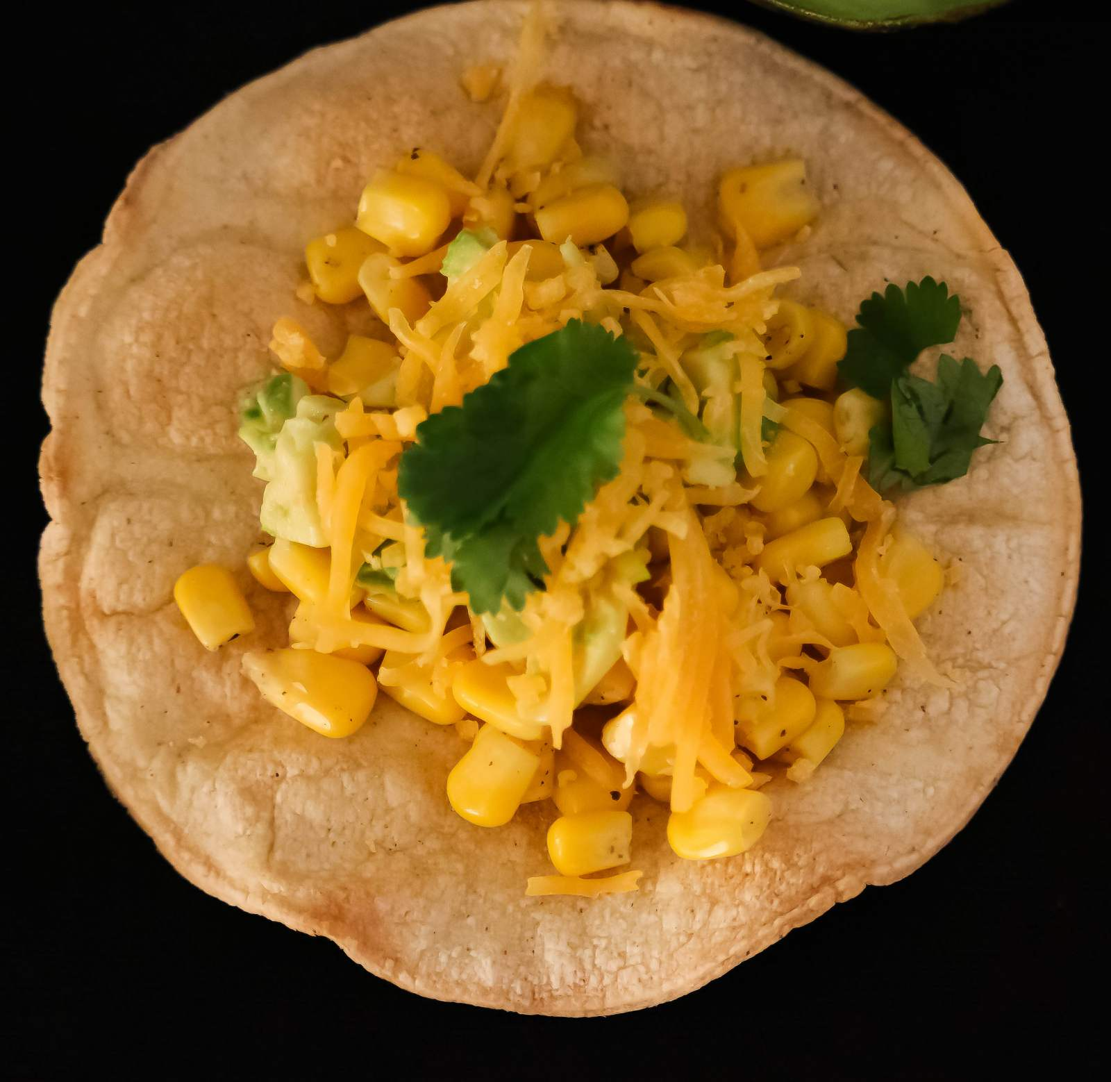 Cheese And Corn Tostadas Recipe