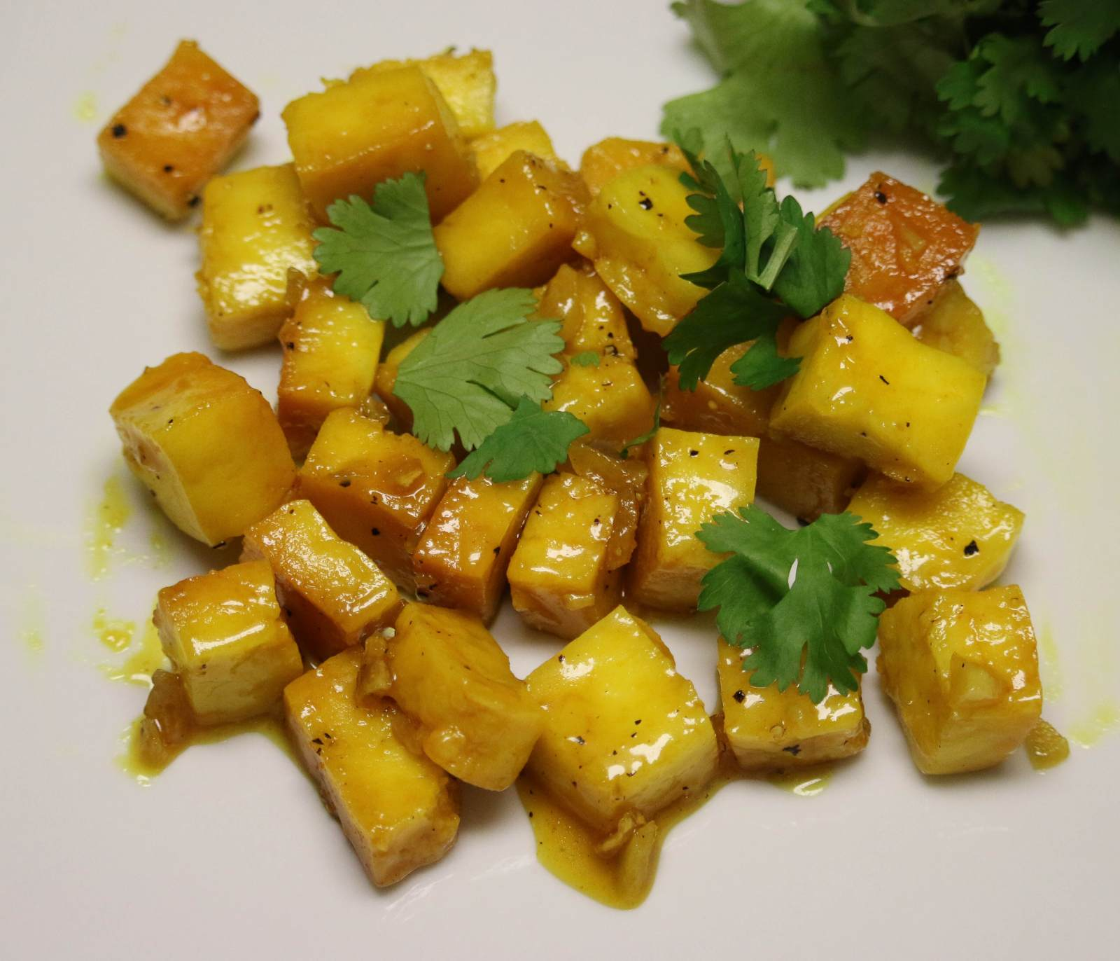 Paneer In Lemon Honey Sauce Recipe