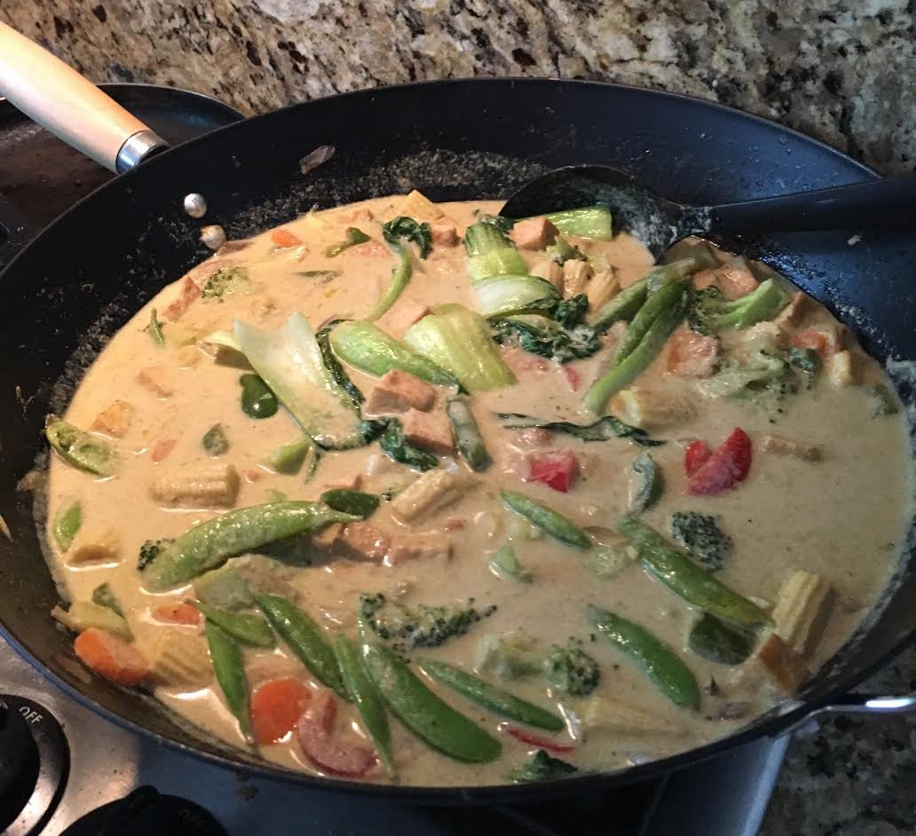 Vegetarian Thai Green Curry With Tofu Recipe