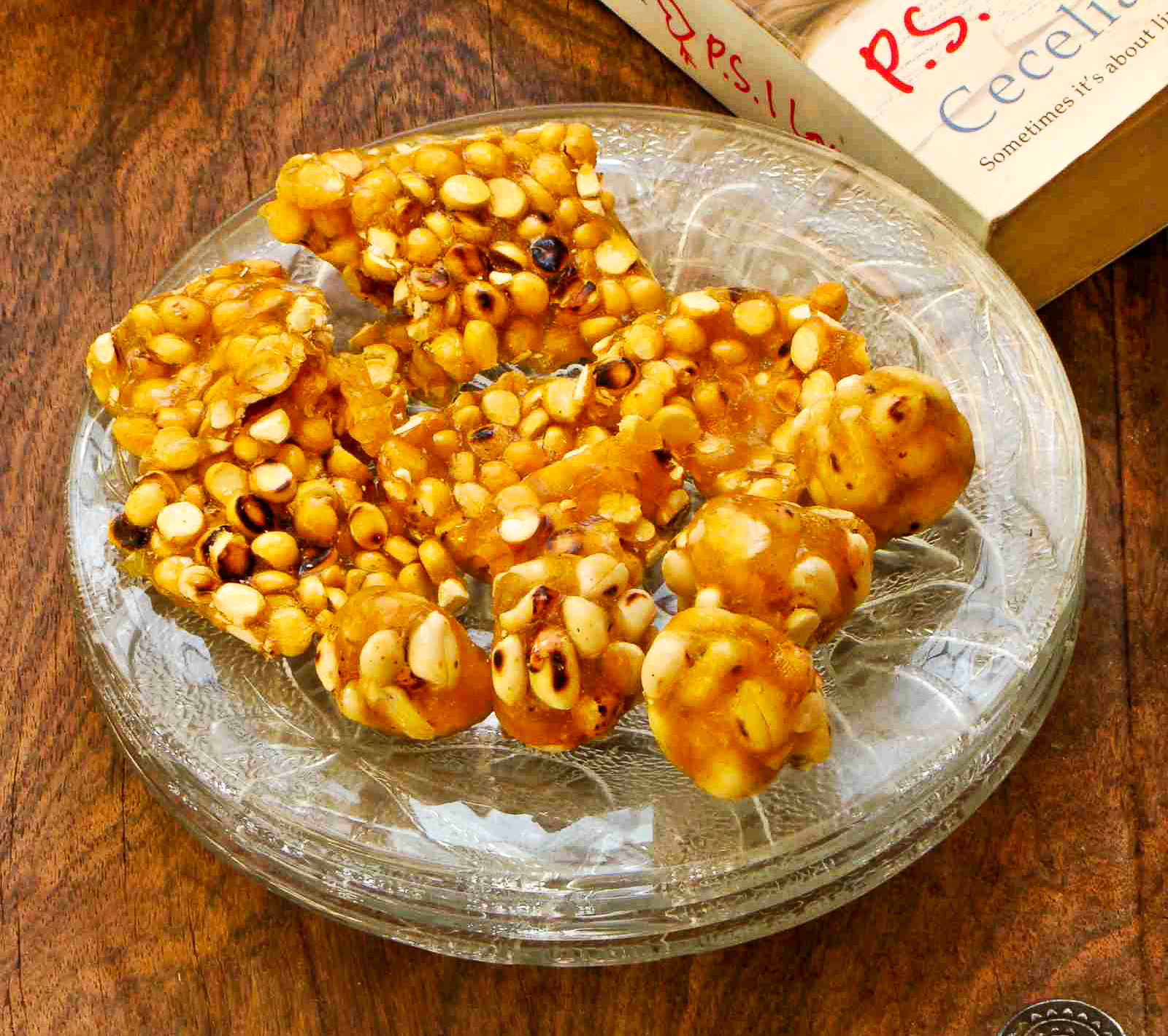 Roasted Peanut & Fried Gram Chikki Recipe