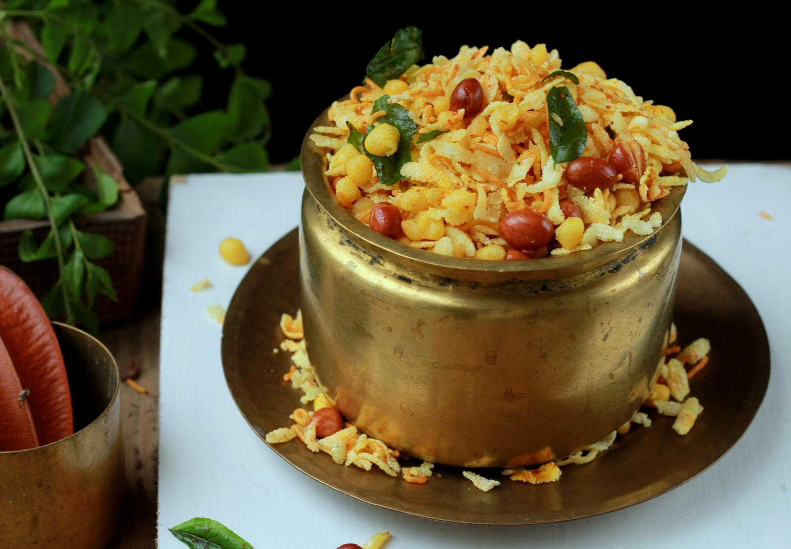 Aval Mixture Recipe - Poha Chivda