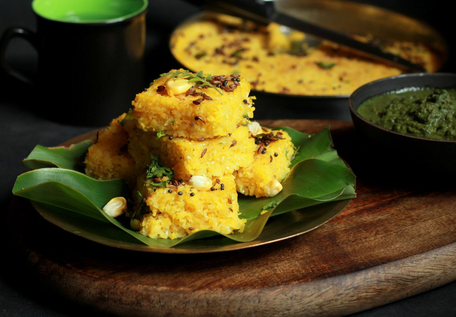 Makai dhokla recipe savoury steamed corn cake by archanas kitchen makai dhokla recipe savoury steamed corn cake forumfinder Choice Image