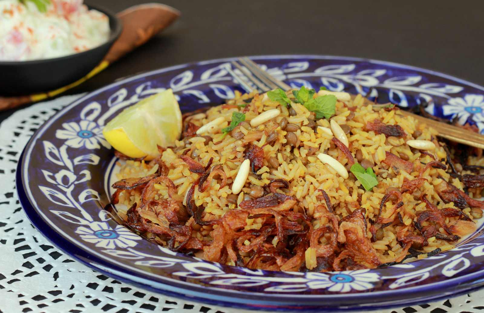 Mujaddara Recipe Traditional Middle Eastern Rice By Archana S Kitchen