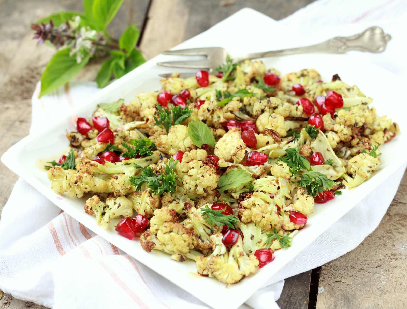Roasted cauliflower recipe by archanas kitchen roasted cauliflower recipe forumfinder Images
