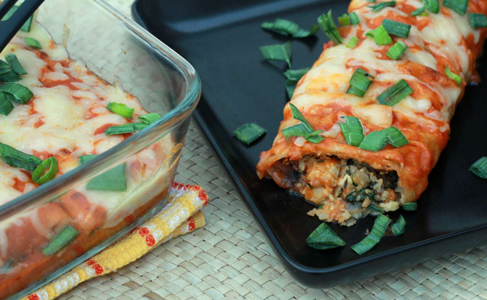 Spinach Enchilada Recipe