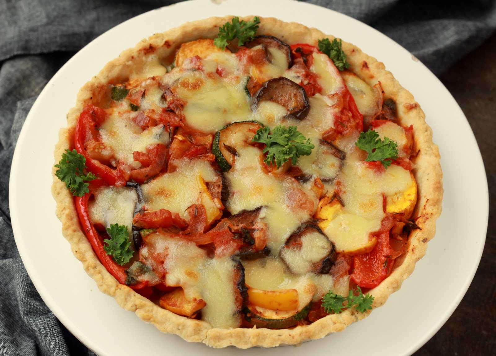 Tart Provencal With Ratatouille Recipe