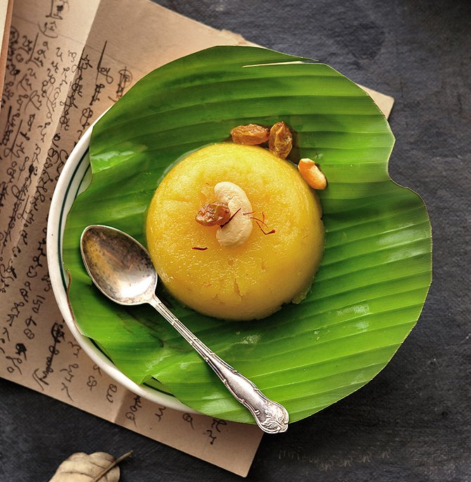 Pineapple Kesari Bhath Recipe - Sweet Semolina Pudding