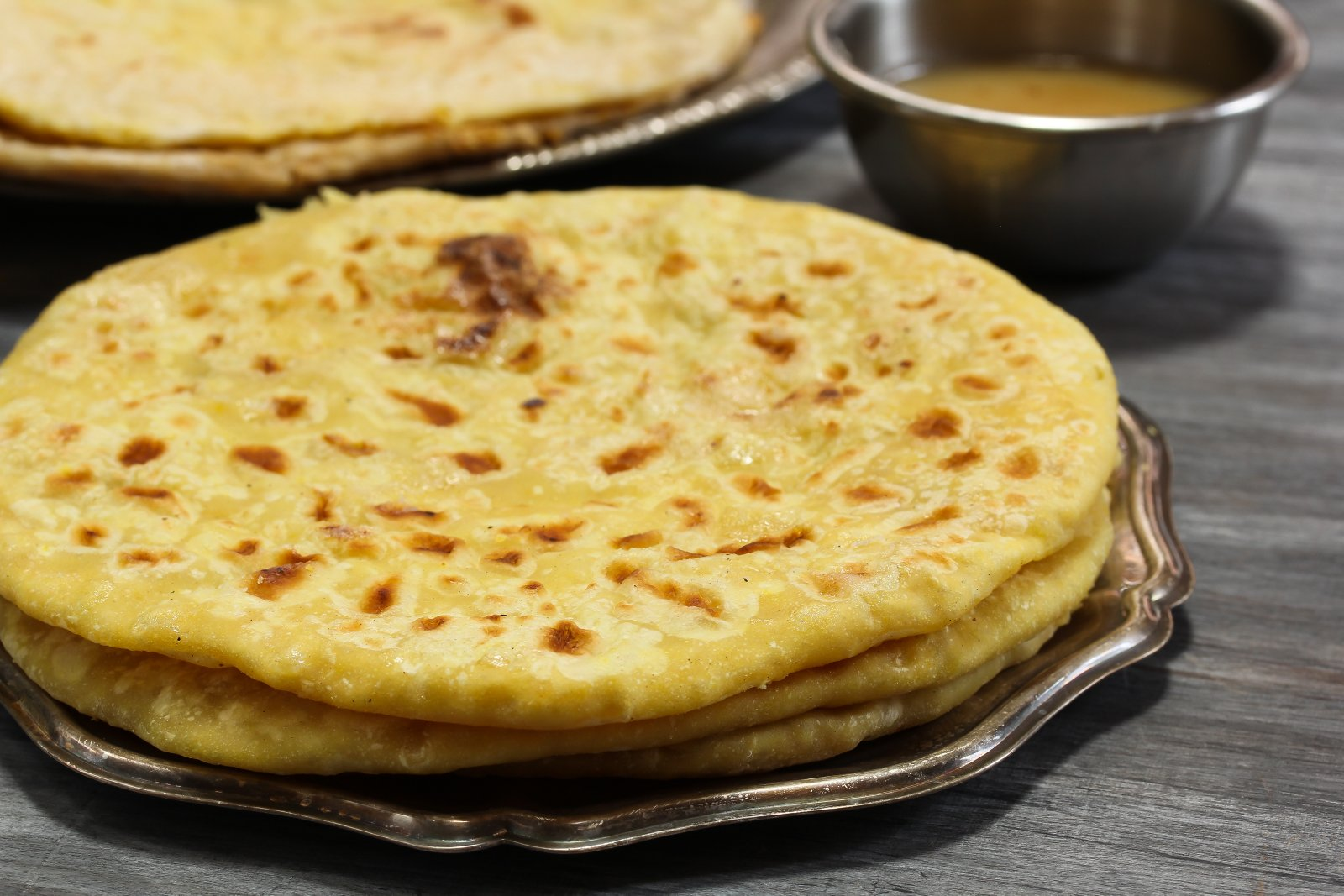 Dry Fruits Meetha Paratha Recipe-Sweet Flat Bread Packed With Dry Fruits