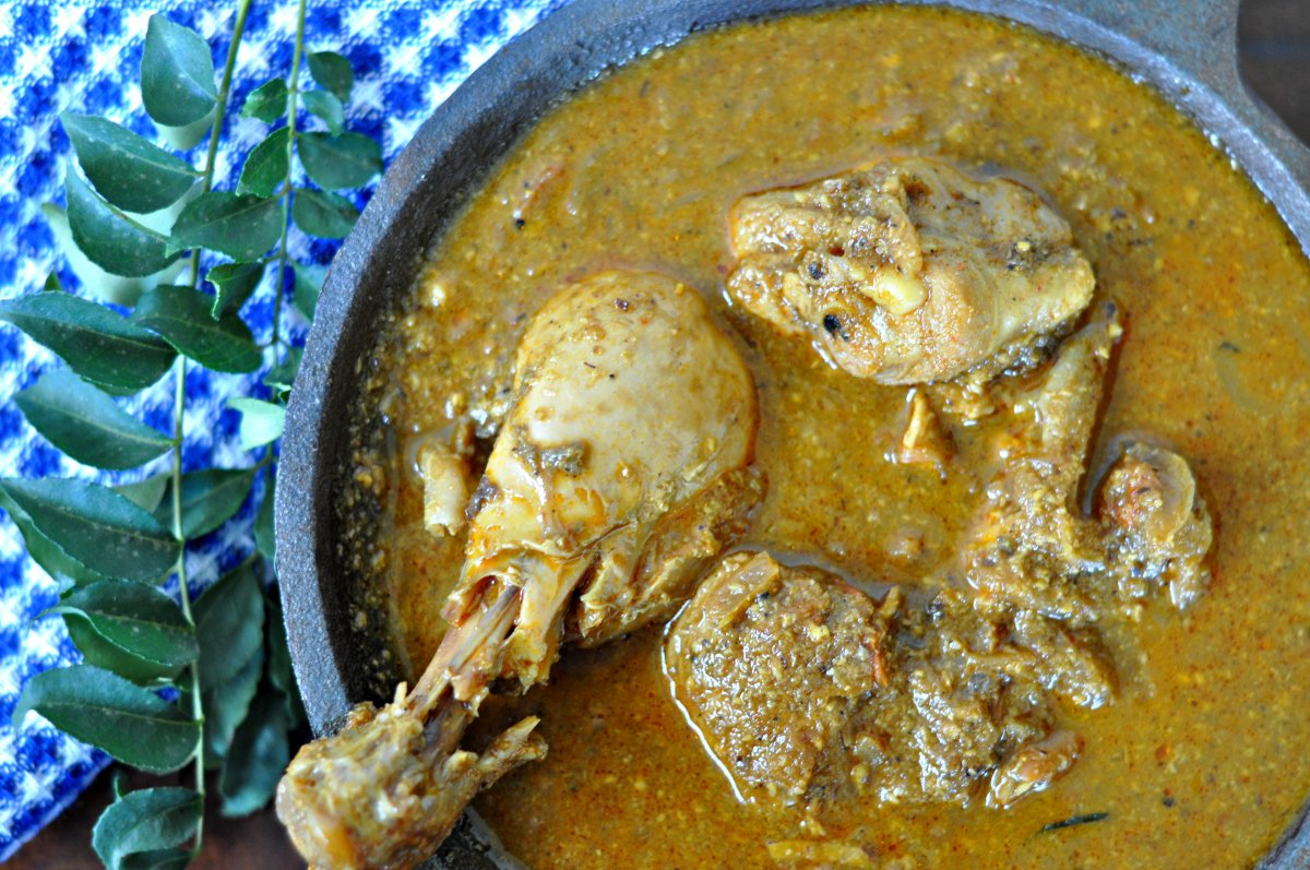 Nadan Kozhi Recipe | Kerala Chicken Curry | Nadan Chicken Curry